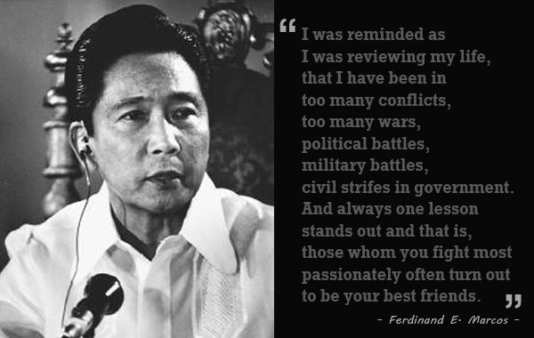 Most Famous Quotes In History Gorgeous 24 Famous Quotesferdinand Marcos  Ako Si Pilosopong Tasyo